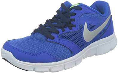 9aad49f10 Nike Boys Flex Experience 3 Athletic Shoes (5 Big Kid M US, Hyper Cobalt