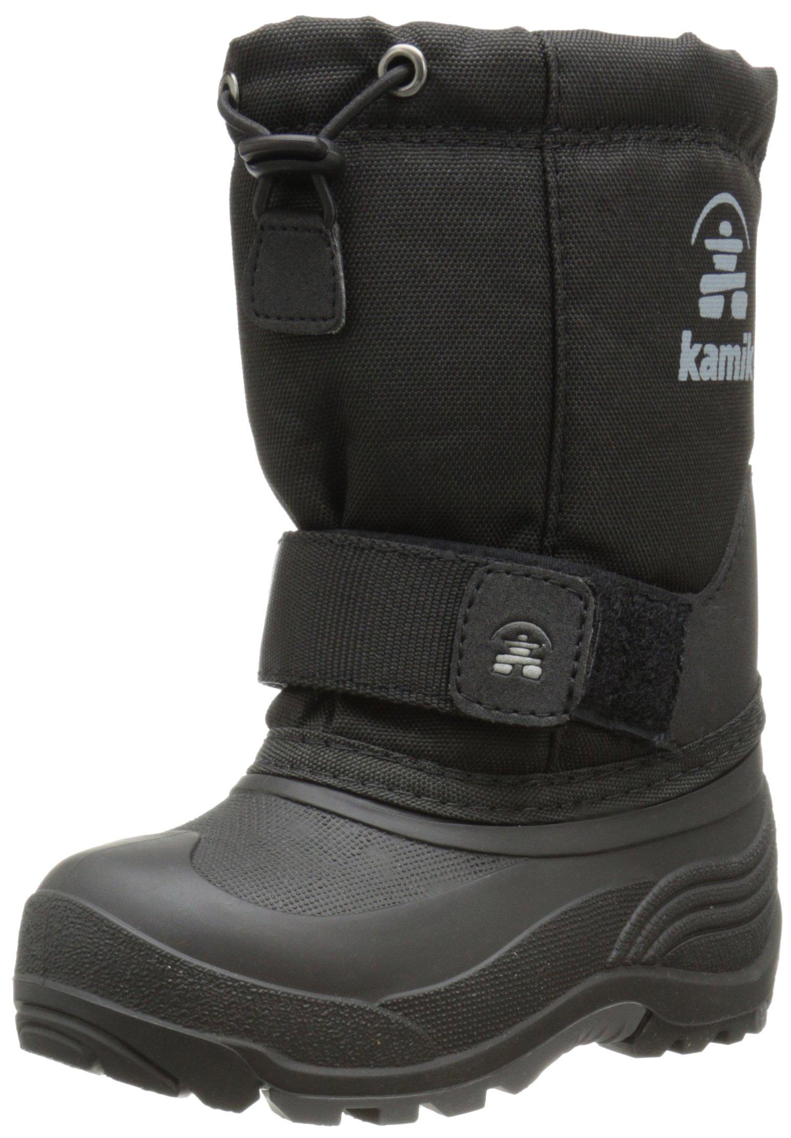 Kamik Rocket Boot - Boys' Black, 6.0