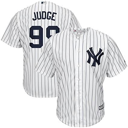 27f1880dc Outerstuff Aaron Judge New York Yankees  99 Youth Cool Base Home Jersey ( Youth Small