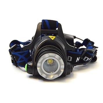 APOLLO Linterna de cabeza Police 600 bateria incluida y ...