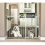 Carlson Maxi Extra Tall Pet Gate, Expands 51-59 Inches Wide
