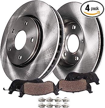 2003 2004 2005 2006 Fit Toyota Corolla OE Replacement Rotors w//Metallic Pads F