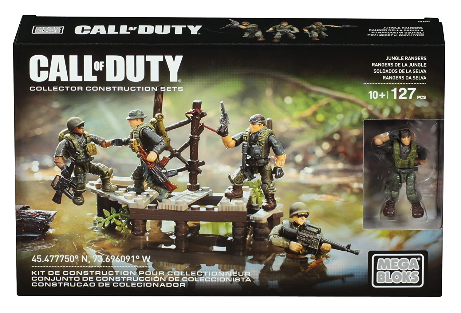 Mega Bloks Call of Duty Jungle Rangers   B0155A9ZMI