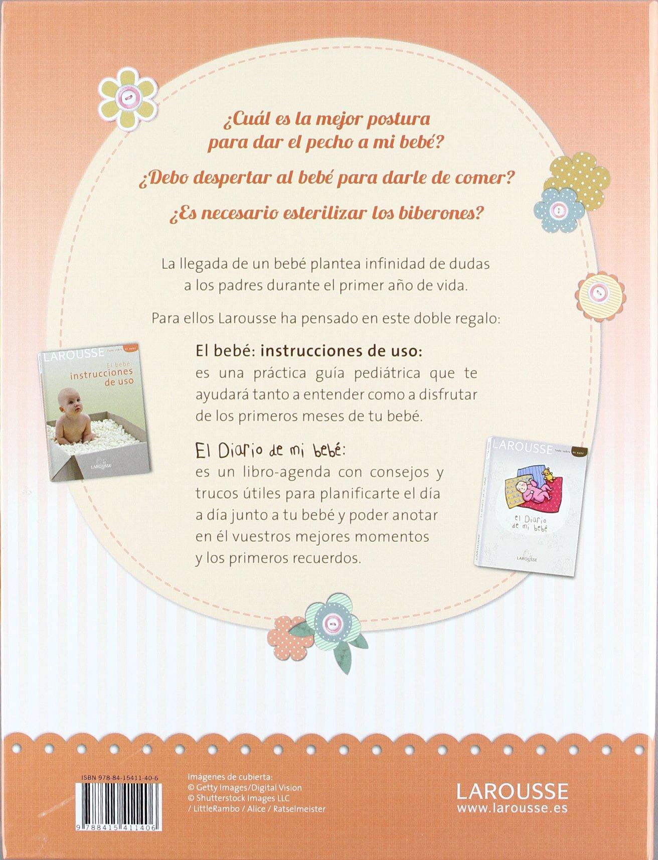 Pack diario de mi bebé + Instrucciones de uso Larousse ...