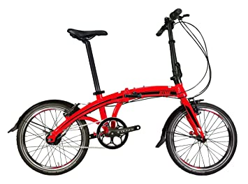 RYMEBIKES Bicicleta Plegable 20´´ City Red
