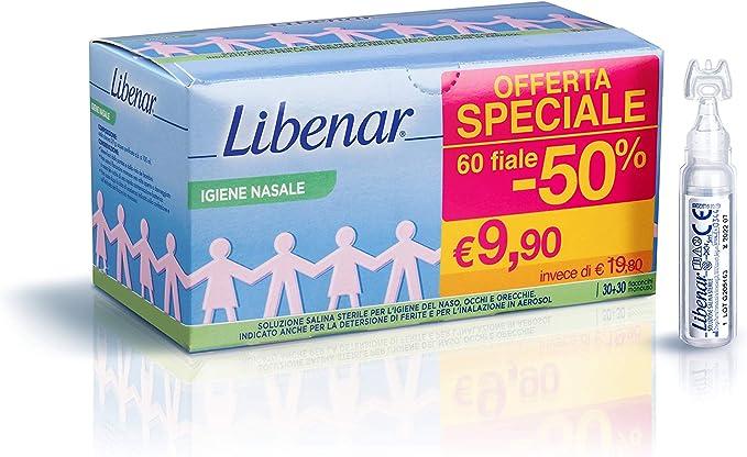 Libenar Soluzione Fisologica Sterile Igiene Del Naso E ...