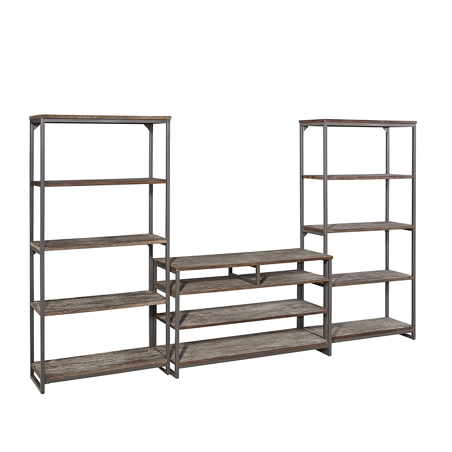 Barnside Metro Gray Entertainment Center by Home Styles