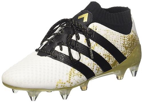 new arrival c9241 b0ab0 adidas Ace 16.1 Primeknit SG, Botas de fútbol para Hombre  Amazon.es   Zapatos y complementos