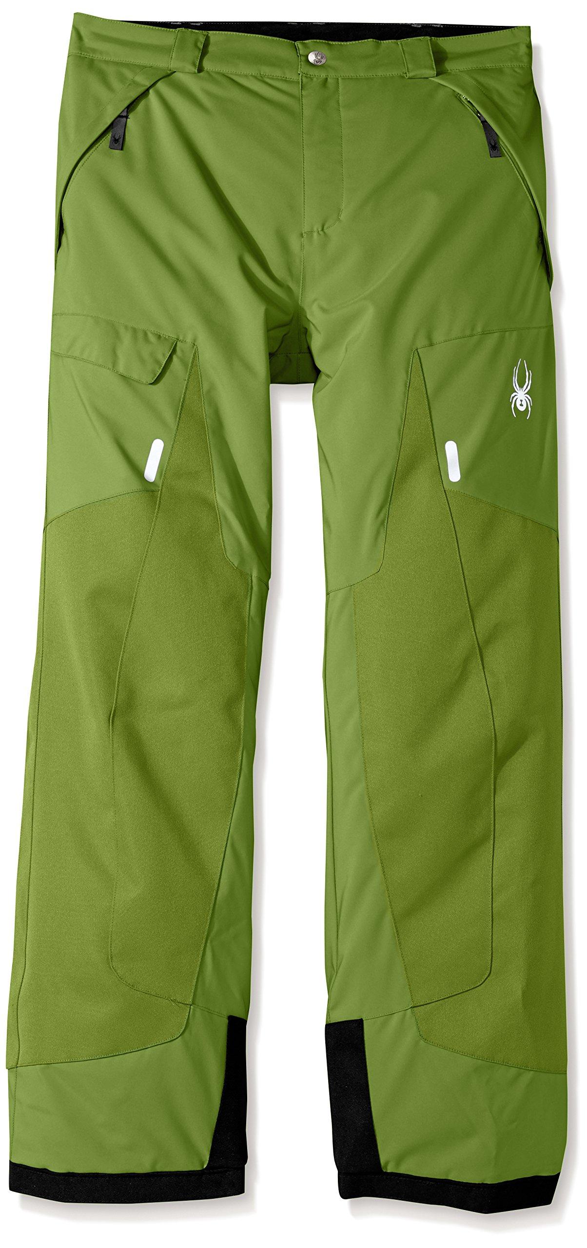 Spyder Boy's Action Ski Pant, Fresh, Size 10 by Spyder