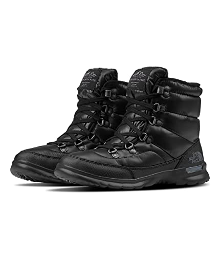 84df6031 Image Unavailable. Image not available for. Color: The North Face Women's  Thermoball Lace II - Shiny TNF Black & Irongate Grey ...