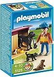 Playmobil - Granja Perros Con Cuidador (5125)