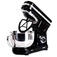 Duronic SM100 Electric Food Stand Mixer with planetary mixing action and 3 mixing attachments