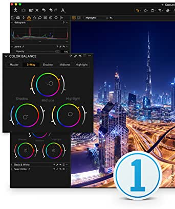 Capture One 11 Photo Editing Software   Single User, 3 seats   Mac [Download]
