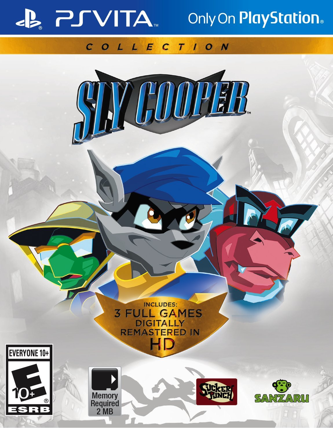 Sly Cooper Collection PS Vita