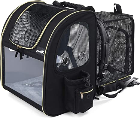 Pecute Pet Carrier Backpack - Reinforced Design with High Breathability