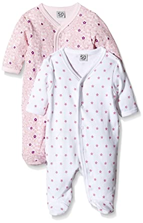 Care 4136_M-Pijama Bebé-Niños Rosa (Light red 500) 1 mes