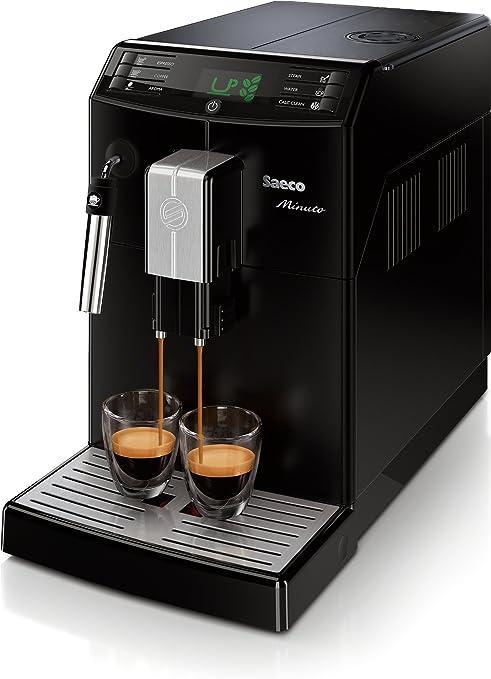 Philips Saeco Minuto Cafetera espresso automáticas, 1850 W, 1.8 ...