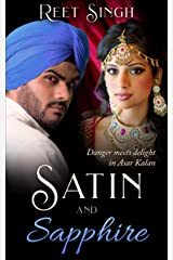 Satin and Sapphire: Danger meets delight & humor in this small-town, drama-packed romance Kindle Edition