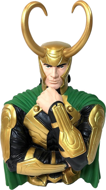Marvel Vinyle Bust Bank Loki