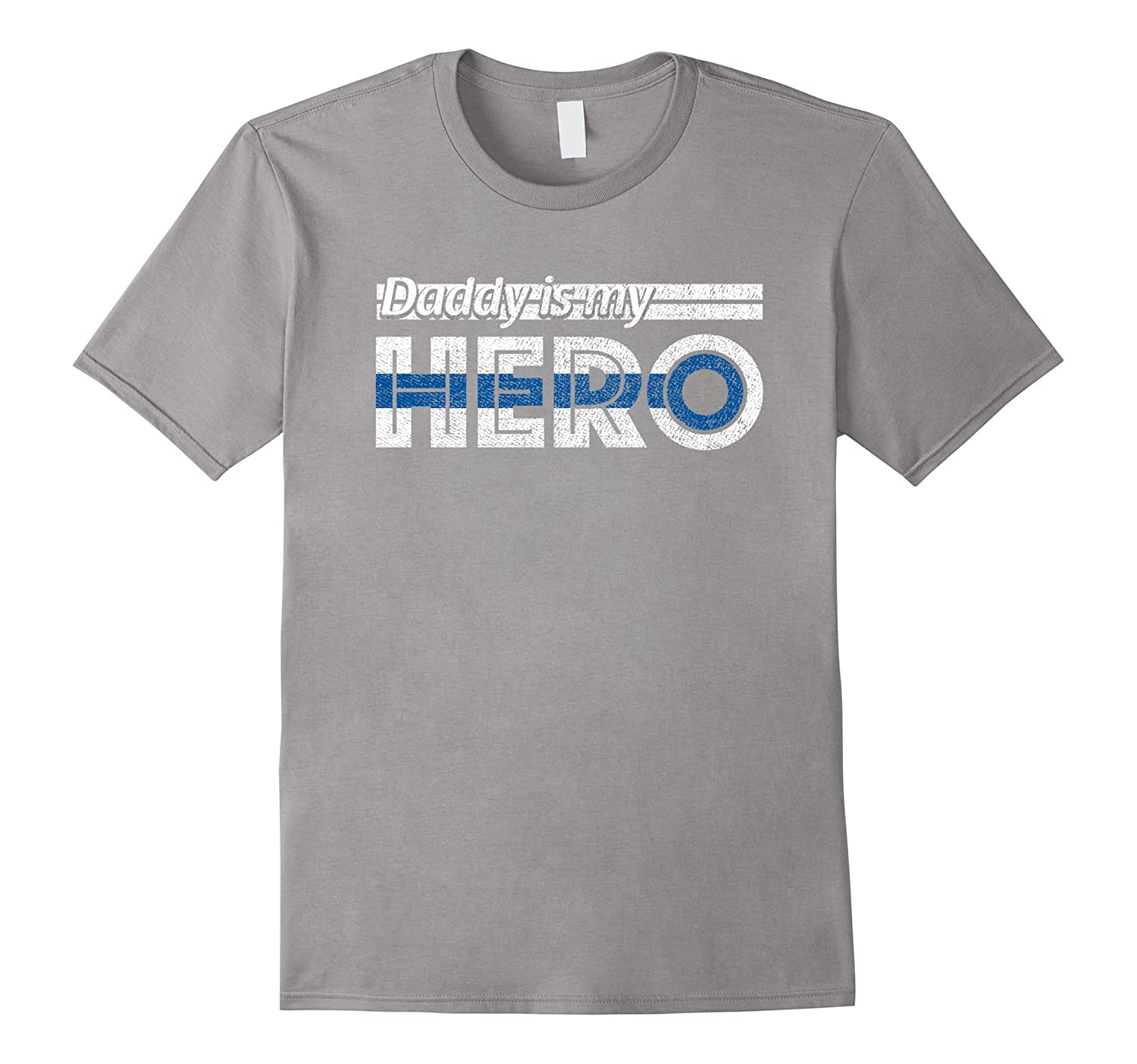Daddy Is My Hero My Daddy Is A Police Officer Kids Police Rt Rateeshirt