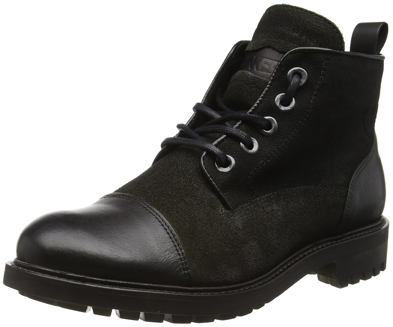 BUNKER Herren Booty Bootsschuhe  45 EU|Schwarz (Black)