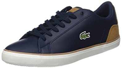 137741b40eb668 Lacoste Men s Lerond 118 1 Cam Trainers  Amazon.co.uk  Shoes   Bags