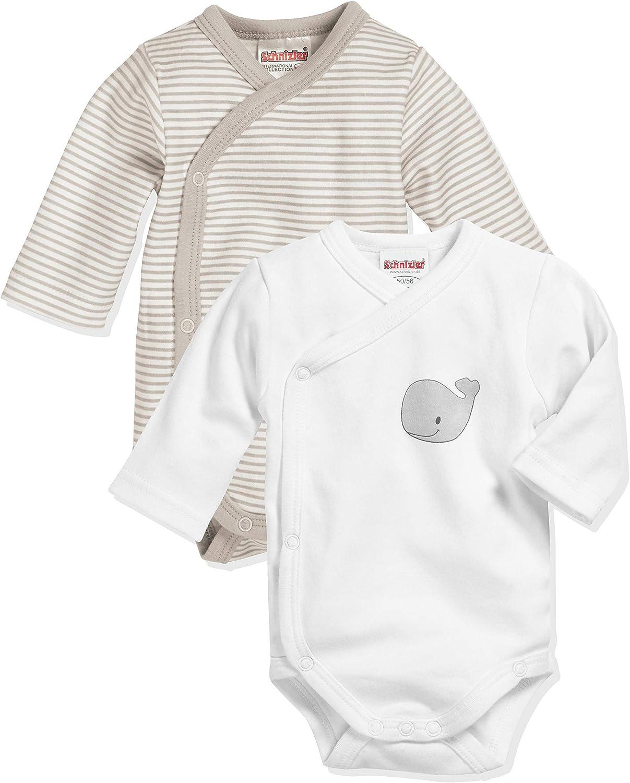 Schnizler Conjunto de ropa interior para bebés y niños pequeños Unisex bebé