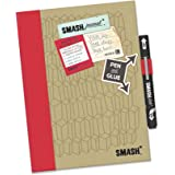 Smash Book Doodle Red Folio