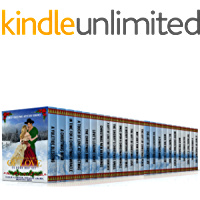 Christmas Gift of Love Boxset: Bumper Christmas Mail-Order Bride Historical Western Romance - 25 Book Box Set