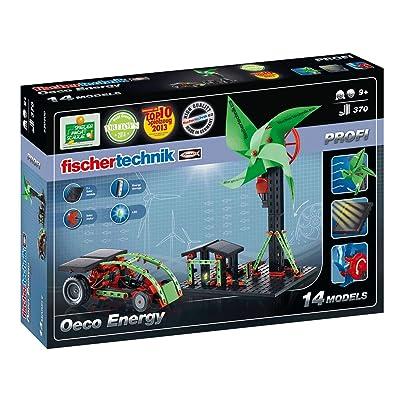 Fischertechnik Oeco Energy Set, 370-Piece: Toys & Games