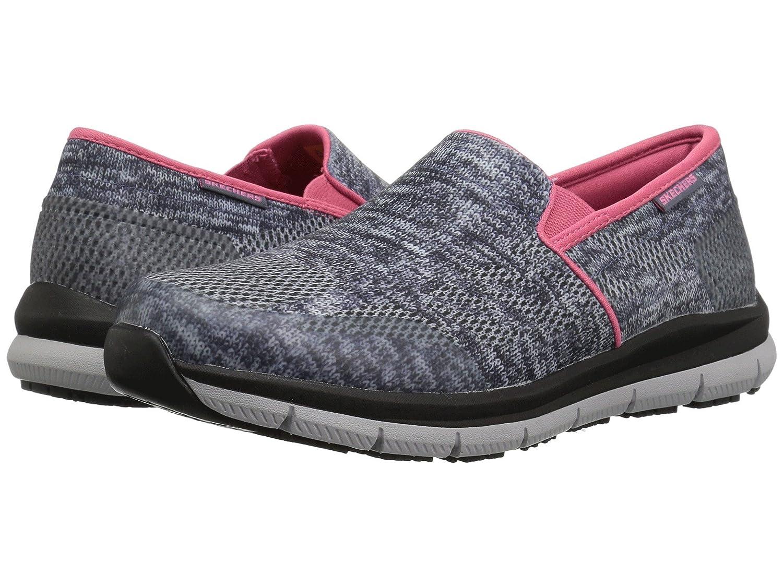 [SKECHERS(スケッチャーズ)] レディースワークシューズナースシューズ靴 Comfort Flex SR HC Pro SR II B07FRSGW8Y 8 (25cm) B Medium|グレー/ホワイト グレー/ホワイト 8 (25cm) B Medium