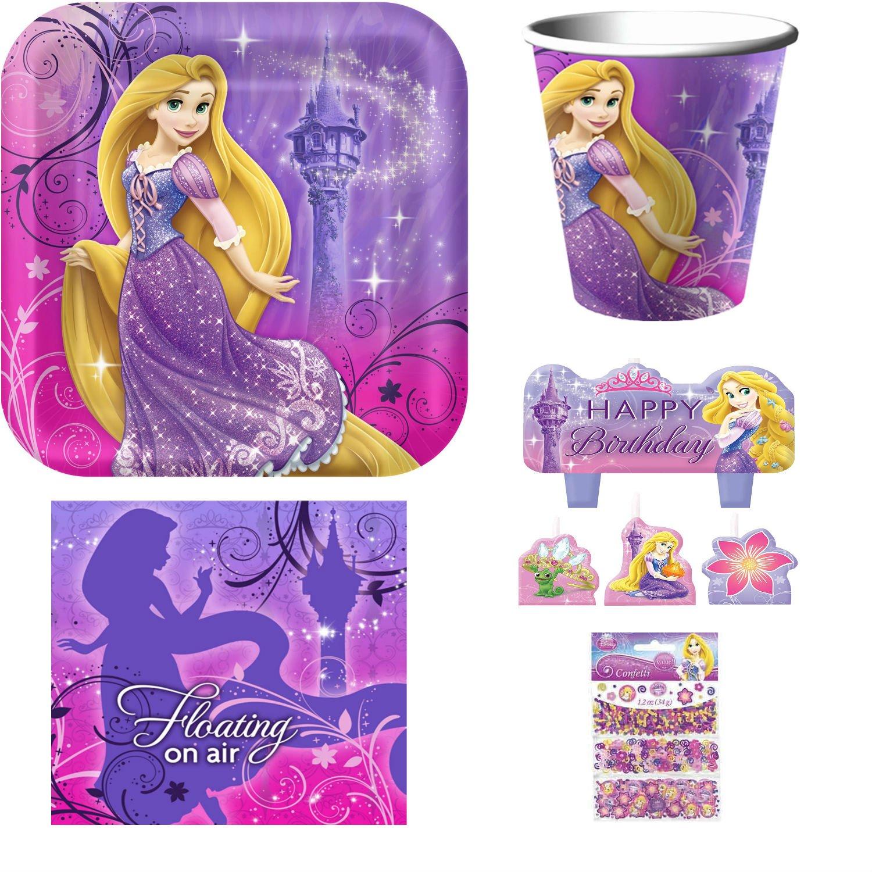 Amazon Com Disney Tangled Rapunzel Party Supplies Including