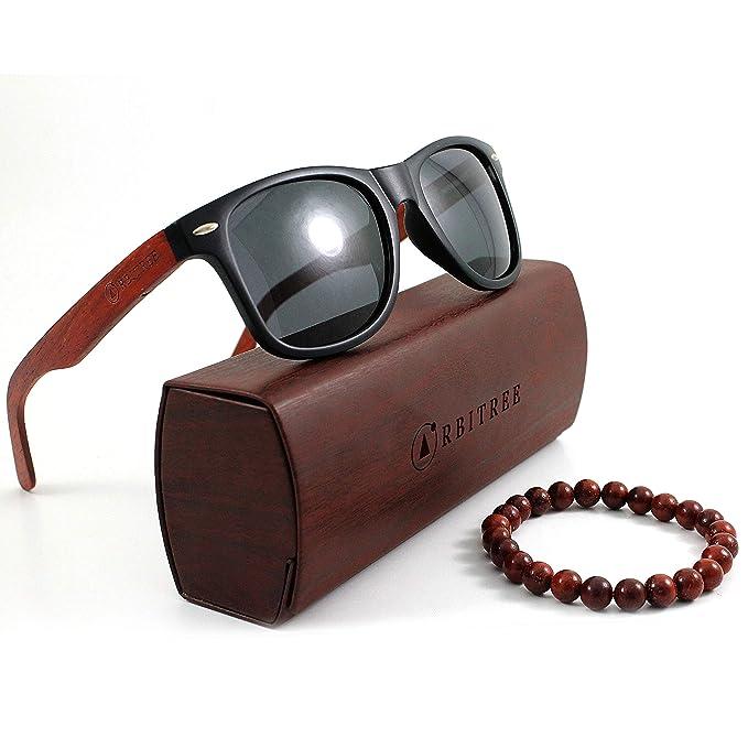 Orbitree - Gafas de sol de madera para hombre y mujer ...