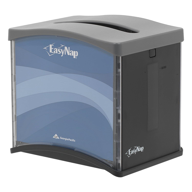 EasyNap 54527 Gris / Negro Top dispensación de mesa servilleta dispensador (Caja de 6) - - Amazon.com