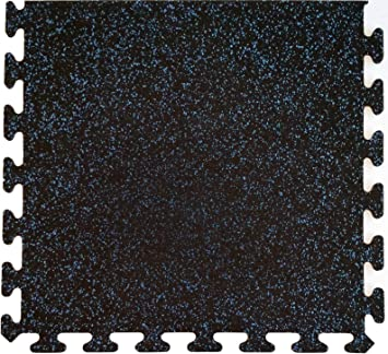 American Floor Mats Fit-Lock 3//8 Inch Heavy Duty Rubber Flooring Interlocking Rubber Tiles - Exercise Mats 4 Tiles Total 24 x 24 Tile 10/% Tan 4 x 4 Set Home Gym Sets