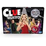 Clue Liars Edition Board Game; Murder Mystery Game for Kids 8 and Up; Expose Dishonest Detectives with The Liar Button