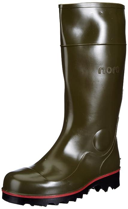 Nora Mega-Jan 75557 - Zapatos de protección S5 unisex, color verde, talla 38