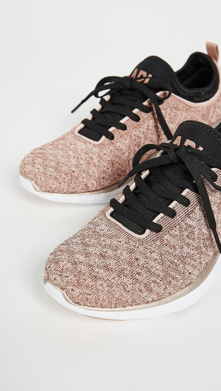 APL: Athletic Propulsion Labs Women's Techloom Phantom Sneakers B078HFWFNC 6.5 B(M) US|Rose Gold/Black