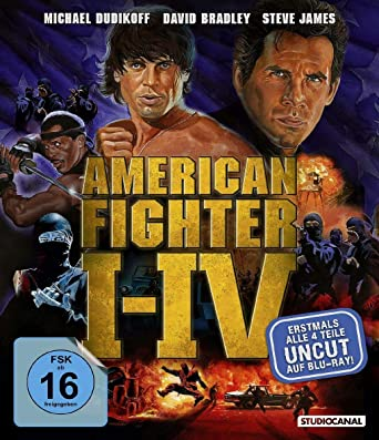 American Fighter 1-4 [Italia] [Blu-ray]: Amazon.es: Cine y ...