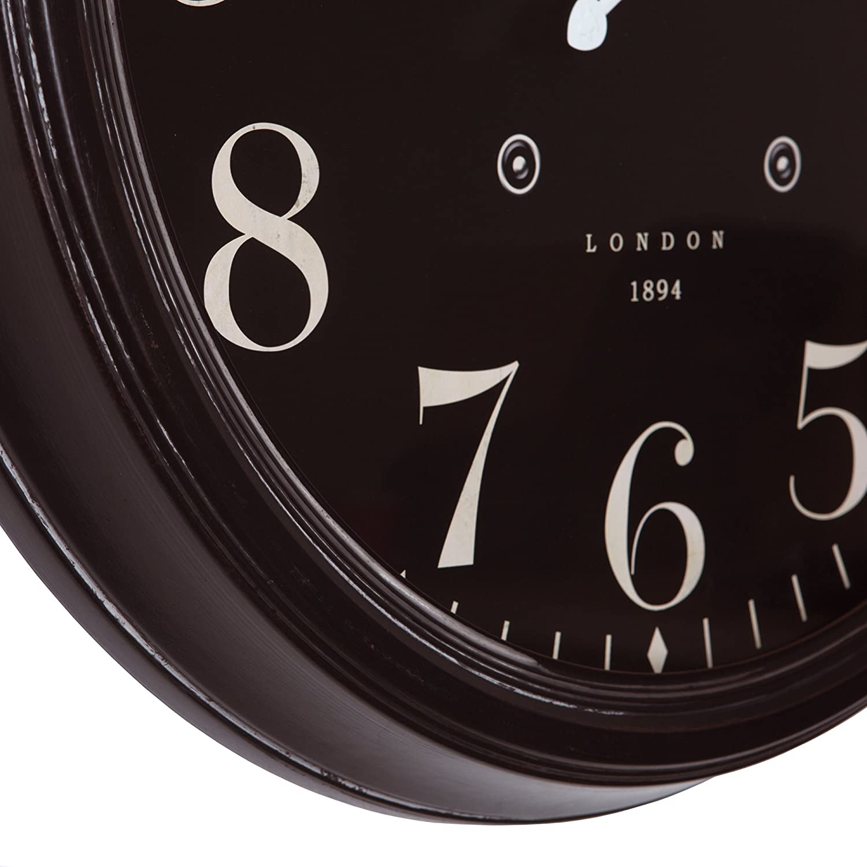 Yosemite Home Decor Circular Iron Wall Clock, Multi