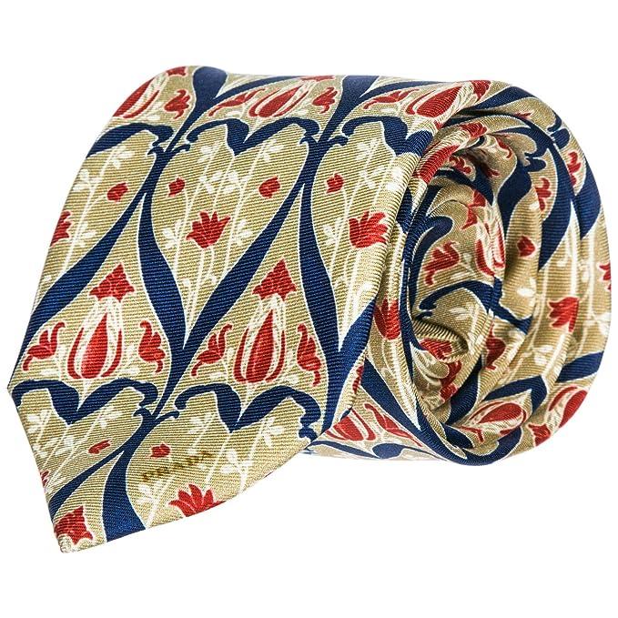 Prada corbata de hombre en seda nuevo beige: Amazon.es: Ropa y accesorios