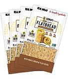 Atoria's Family Bakery Mini Lavash bread w/ Whole Grain & Flax │Perfect for sandwich bread, wraps or pizza crust │50…