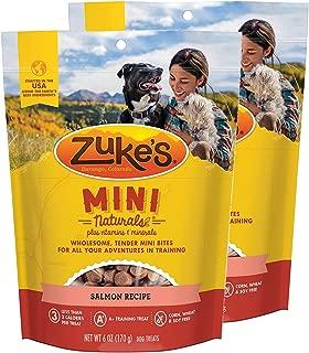 product image for Zuke's Mini Naturals Dog Treats Salmon Recipe 6 oz 2 Pack
