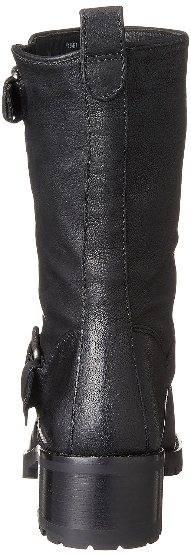 Cole Haan Women's Hemlock Motorcycle Boot B00TE7LOUU 9 B(M) US|Black Leather