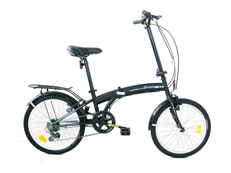 Frejus DP1X20106 - Bicicleta 20 Plegable Unisex, Color Negro DP1X20106_VERDE