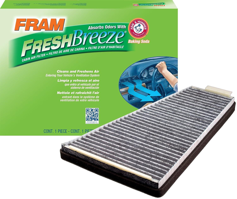 Amazon.com: FRAM FCF8109A Fresh Breeze Cabin Air Filter with Arm & Hammer:  Automotive