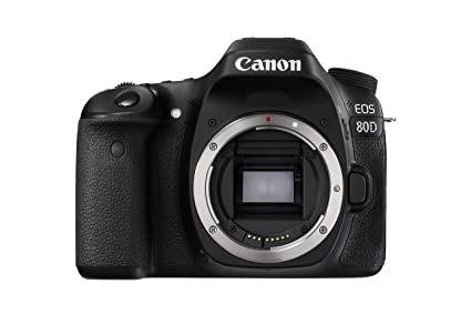 Canon EOS 80D Digital SLR Camera Body Black