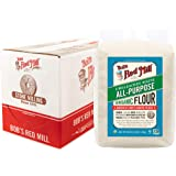 Bob's Red Mill Organic Unbleached White All-Purpose Flour, 48 Oz (Pack of 4)