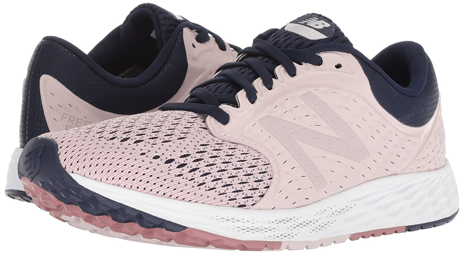 New Balance Women's Zante V4 Fresh Foam B(M) Running Shoe B075R755DL 6 B(M) Foam US|Light Pink 57b086