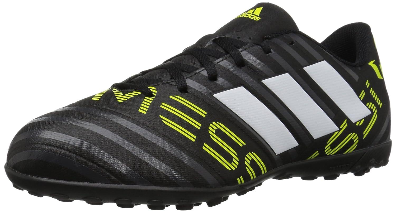 Adidas Originals Uomo Nemeziz Messi 174 TF Calcio Scarpe Nero/Bianco/Solar Giallo Impeccabile perfetto 4N1G15